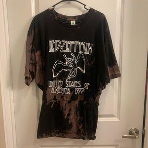 Led Zeppelin tshirt dress